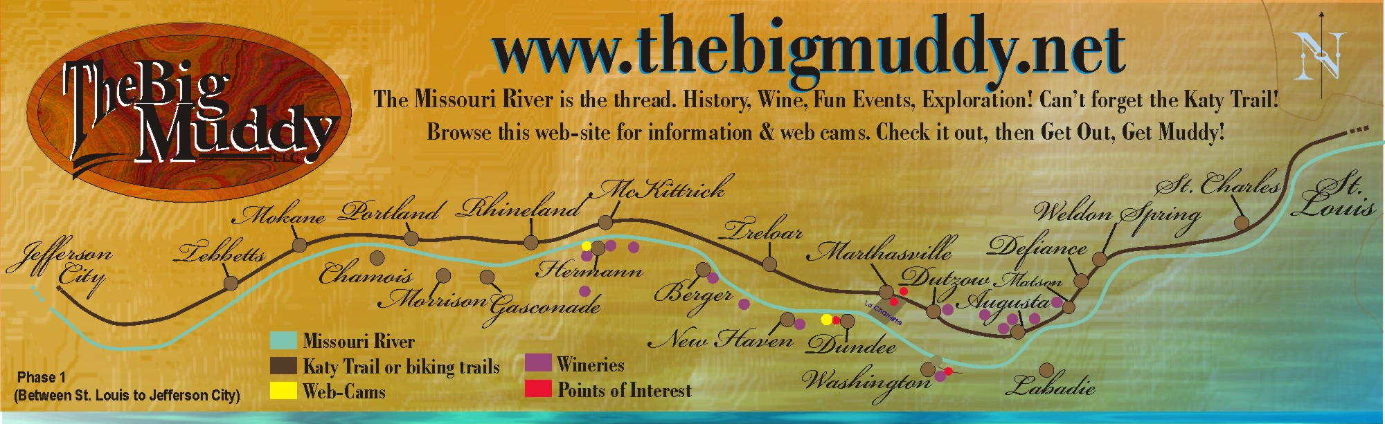 TheBigMuddy Map